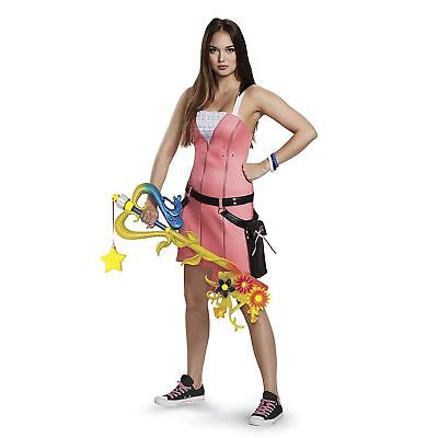 Adult Womens Disney Kingdom Hearts Kairi Dress Cosplay Halloween Costume S M - Kingdom Hearts Costumes Halloween