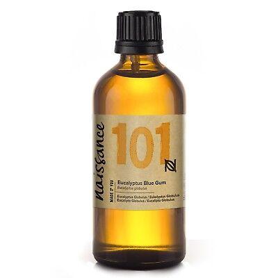 Naissance Aceite Esencial de Eucalipto Azul 100ml - 100% puro, vegano y...