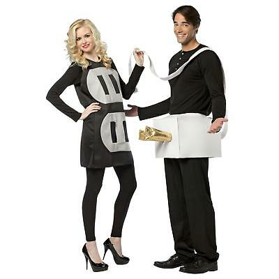 Plug And Socket Couples Set Funny Gag Halloween Costume (Couples Halloween Costumes Plug And Socket)