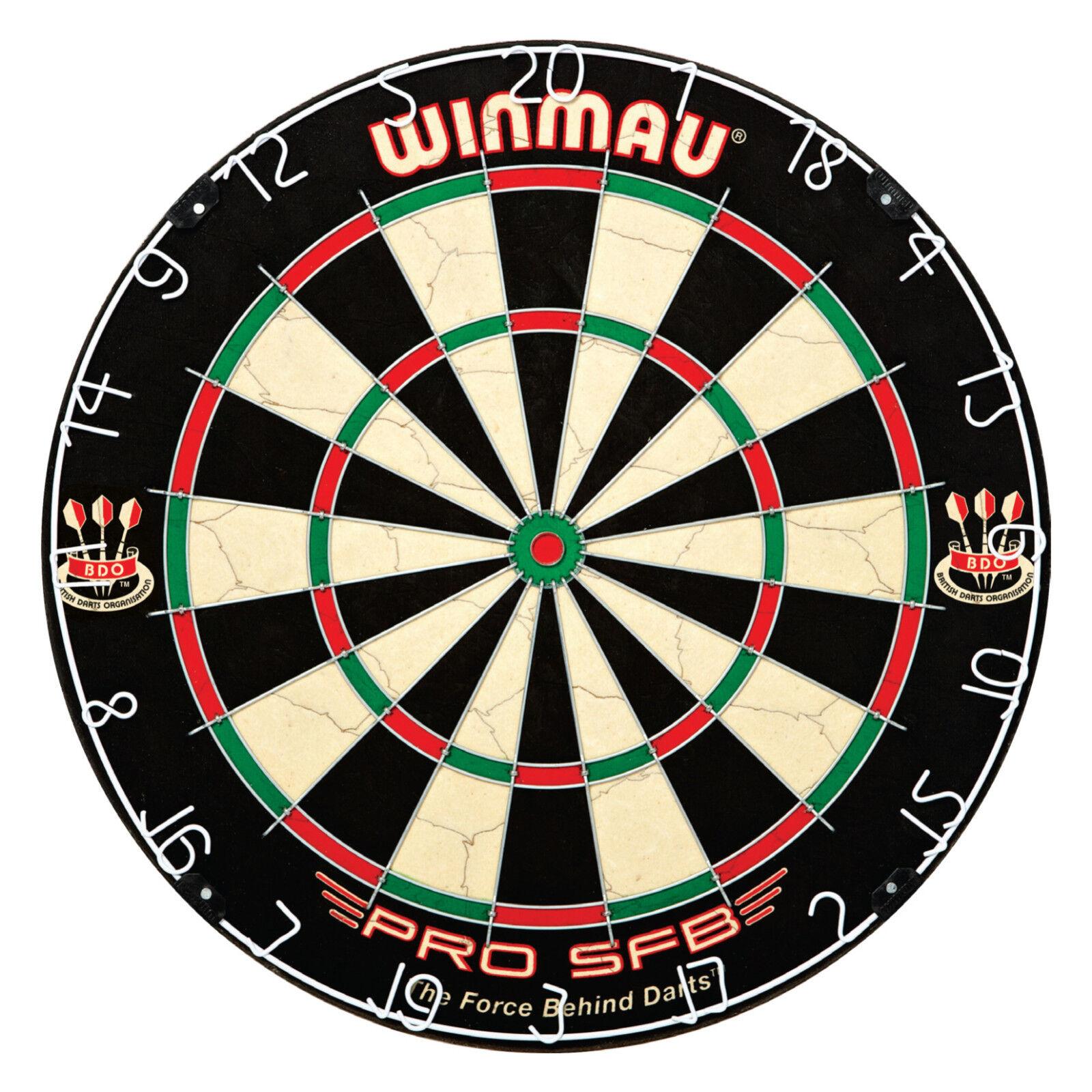 Winmau Board - Pro SFB Dartboard Dartscheibe Dart (Steel Dart) NEU