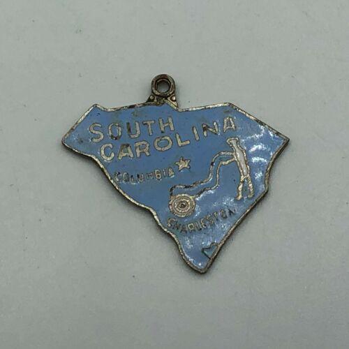 Vintage South Carolina Charm Columbia Charleston Enameled   Q4