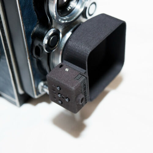 3D Printed Yashica Mat Bay 1 Lens Hood With Cold Shoe