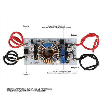 Dc Converter Constant Voltage Power Supply 250w 6a Step Up Boost Led Driver Ncz