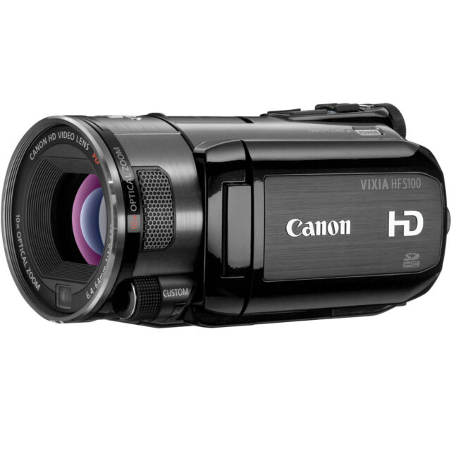 MINT Canon VIXIA HF S100 Flash Memory High Definition 1080p Camcorder