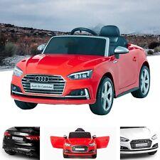 Licensed Audi S5 Sport Kids Electric Ride On Car 12V With Parental Remote MP3