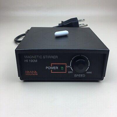Hanna Instruments Hi 190m Mini Magnetic Stirrer With Stir Bar