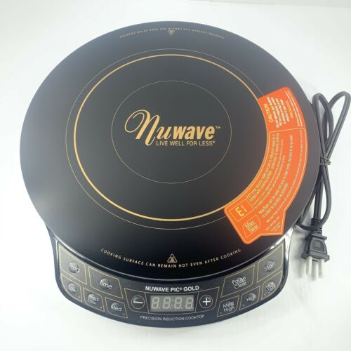 NuWave Pic Gold Precision Induction Cooktop 30211 Portable L