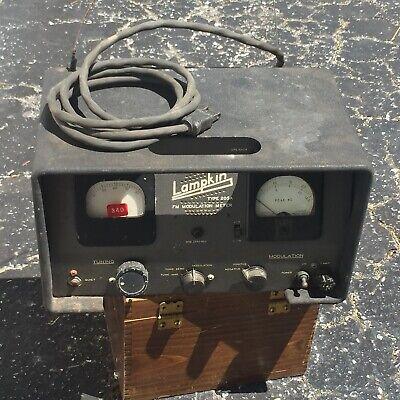 Lampkin 205a Fm Modulation Meter - Free Shipping