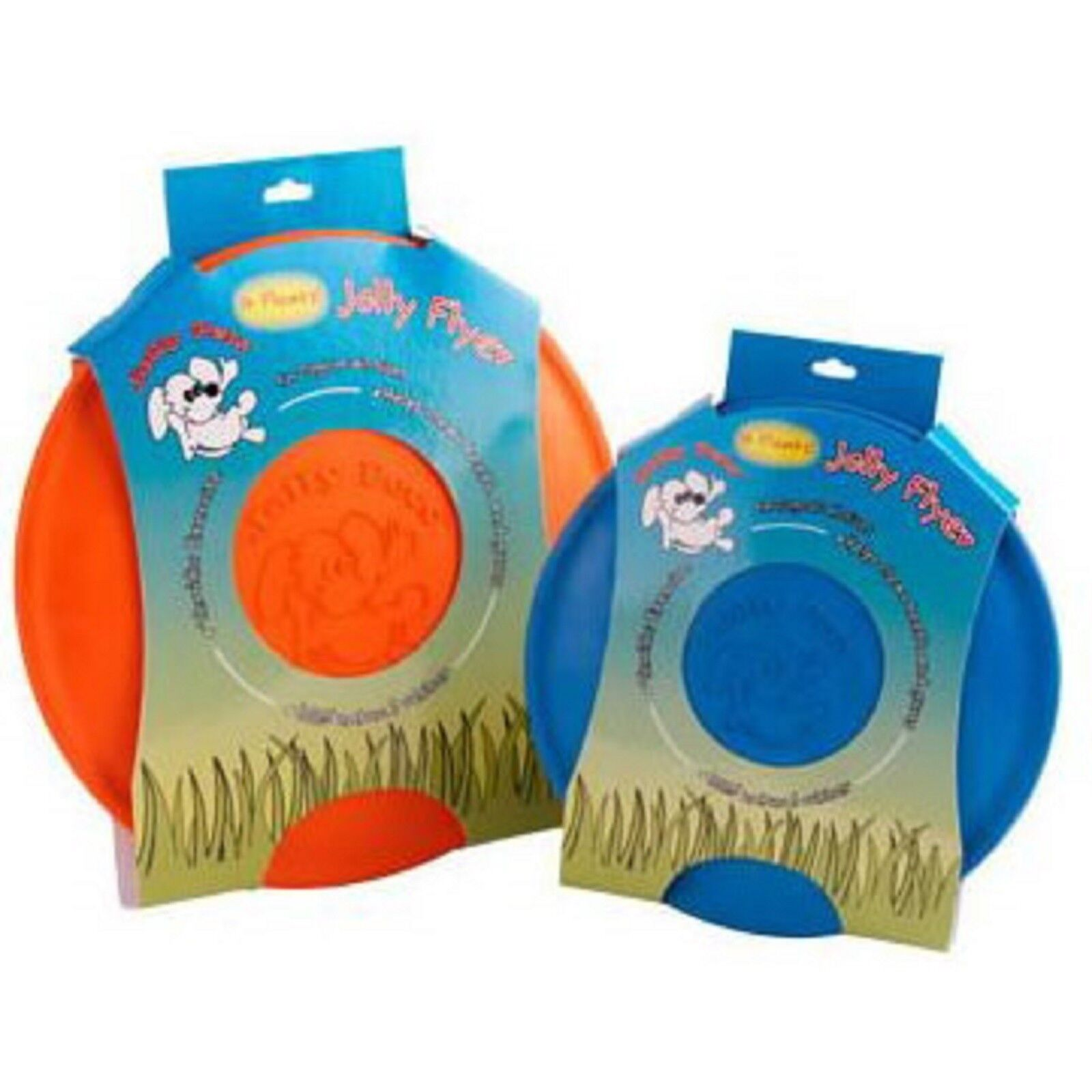 Jolly Pets Jolly Flyer 9.5 Blue Dog Toy