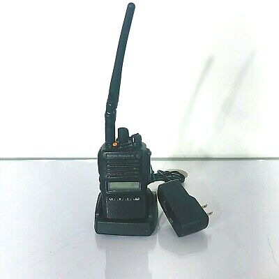 Vertex Standard Vx-824-do-5 Vhf Two Way Radio Walkie With Cd-53 Charger