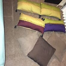 7 x BALI inspired Pillows Chatswood West Willoughby Area Preview