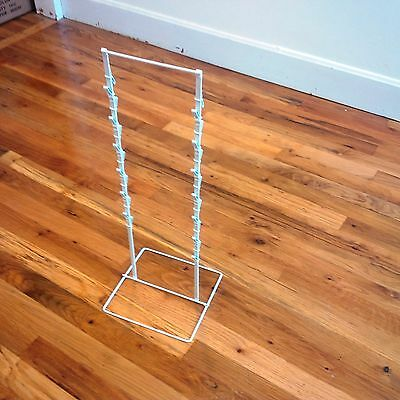White Single New Double Round Strip Potato Chip Candy Clip Counter Display Rack
