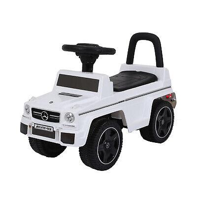 Kinder Auto Rutschauto Kinderfahrzeug Bobby Car Mercedes Benz G63 AMG Weiß