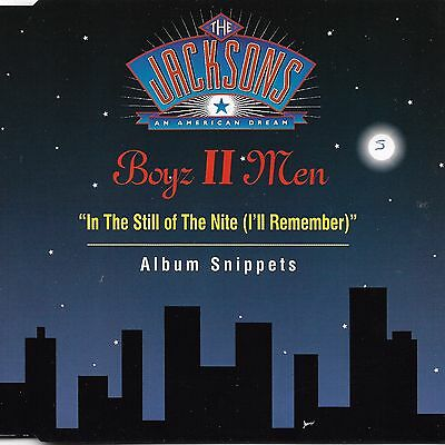 In The Still Of The Nite [Single] by Boyz ll Men (Cd 1992) [3 trk]