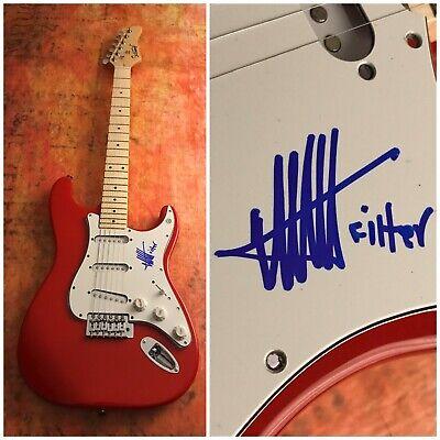 GFA Filtro Título de Registro Richard Patricio Firmado Eléctrico Guitarra R3 COA