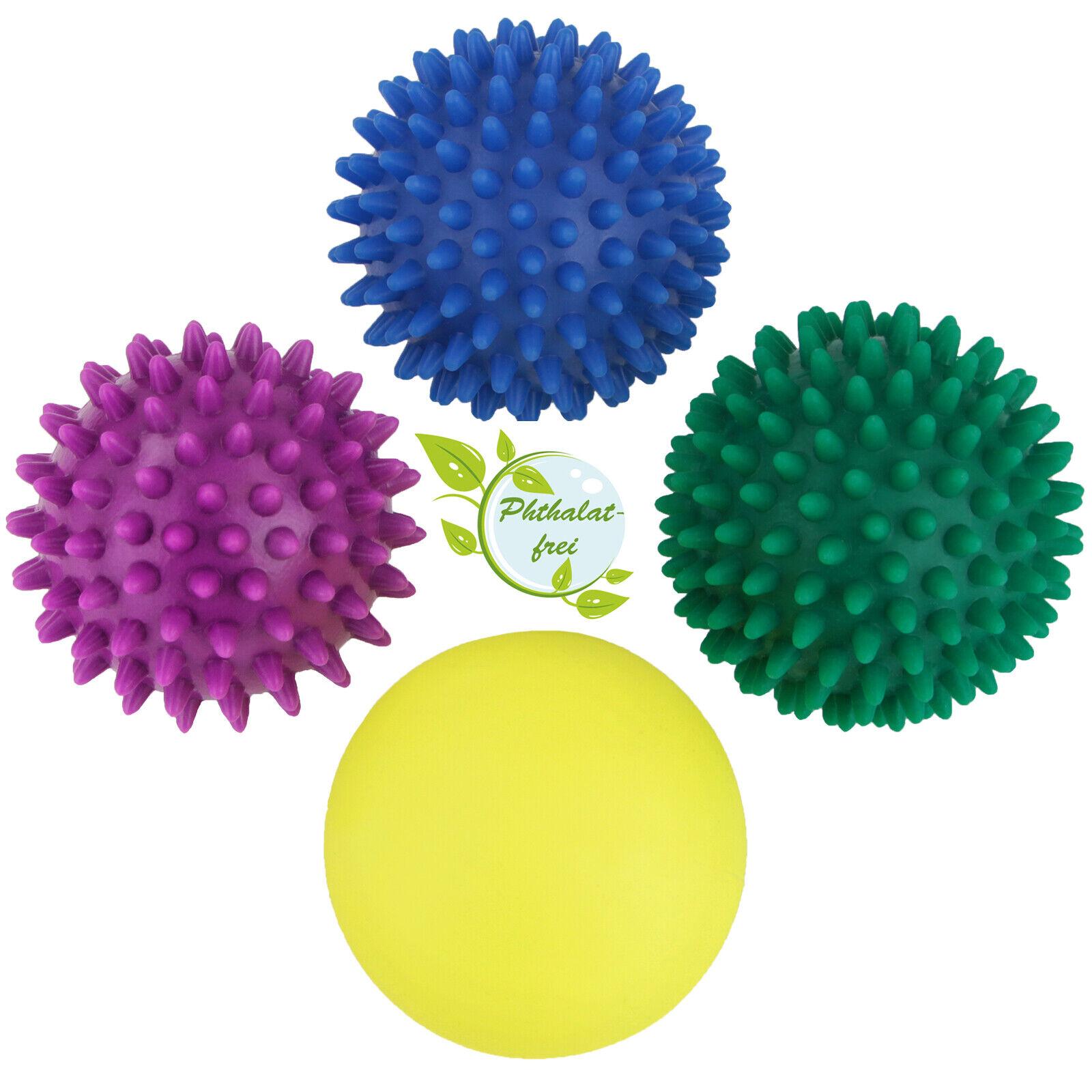 4er Set Igelbälle Massageball Set Massagebälle Igelball Ball