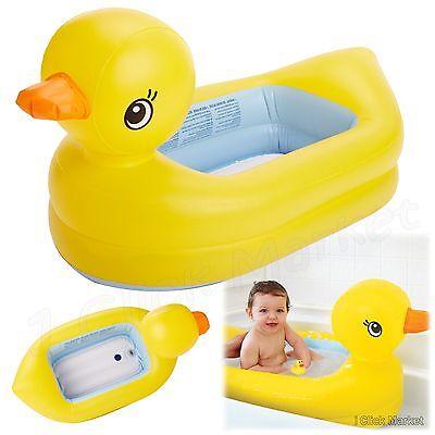 Baby Tub Bath Toddler Inflatable Pool Newborn Shower Bathing Infant Bathtub Toy