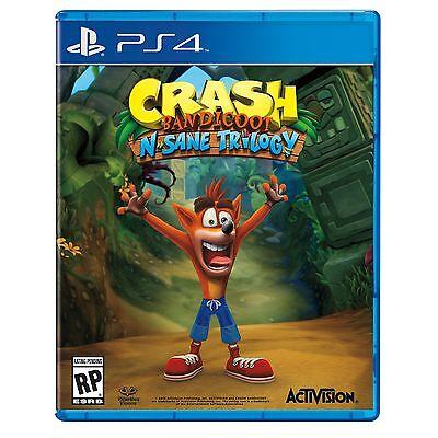 Crash Bandicoot N  Sane Trilogy Playstation 4 Video Game