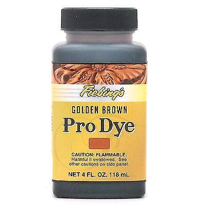 Fiebing's Professional Oil Dye Golden Brown 4 oz (118 mL) 2110-15