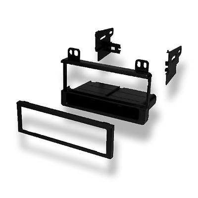 Car Stereo Single DIN Radio Dash Stereo Mounting Installation Trim Bezel Kit American International Fmk550 Ford Radio
