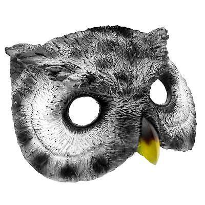 Für Erwachsene & Kinder Eule Tier Vogel Schaum Kostüm Maske Buch Woche Halloween ()