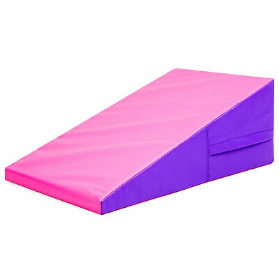 BCP 38x23x14in Kids Foam Gym Cheese Wedge Mat for Tumbling,