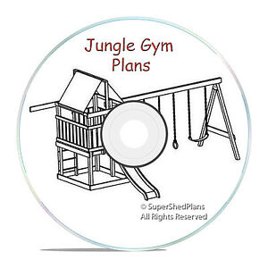 Custom design jungle gym plans build a fort or a swingset for Wooden jungle gym plans