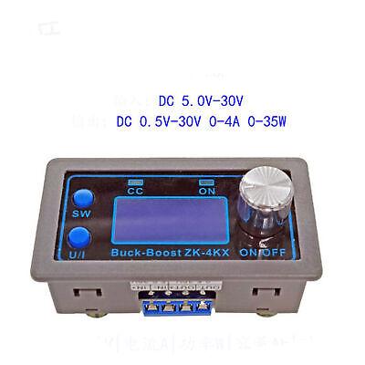 Dc-dc Buck Boost Converter Cc Cv Output 0.5-30v Adjustable Power Supply Mode Us