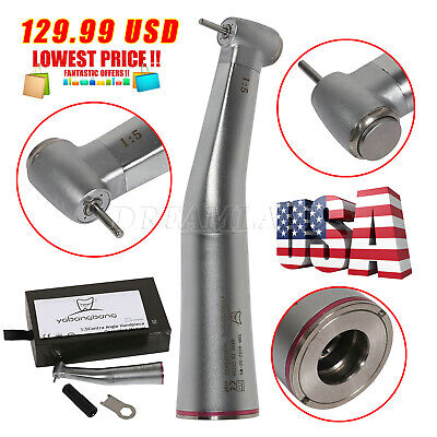 Dental Electric 15 Increasing Contra Angle Handpiece Inner Spray Fit Nsk Ti-max