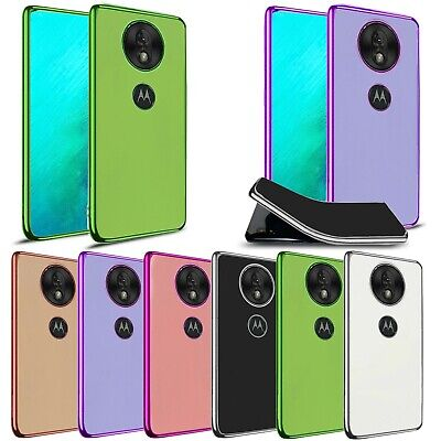 For Motorola Moto G7 Play Power E6 Plus Shockproof Slim Fit TPU Silicon Gel Case