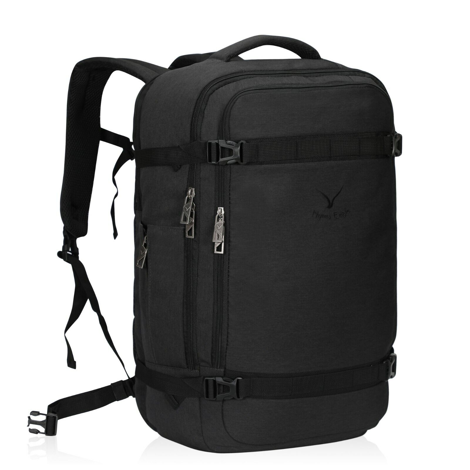 Hynes Eagle 44L Travel Backpack Airline Approved Carry on Backpack Weekender Bag