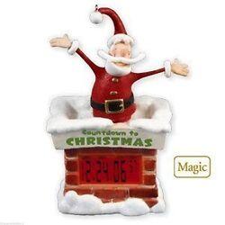 HALLMARK 2010 ~COUNTDOWN DIGITAL CLOCK TO CHRISTMAS DAY  TABLE TOP