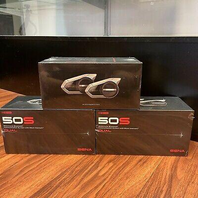Sena 50S Bluetooth Motorcycle Helmet Intercom Headset - Dual Pack 50S-01D
