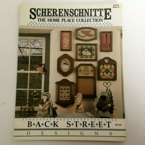 Scherenschnitte Back Street Designs Paper Cutting Projects The Home Place Book 8