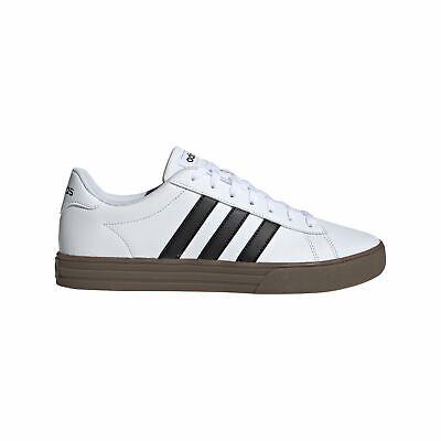 adidas Core Herren Freizeit-Fitness-Schuhe Sneaker Daily 2.0 weiss schwarz (Adidas Schuhe Fitness)