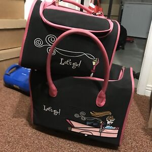 2 piece girls luggage set