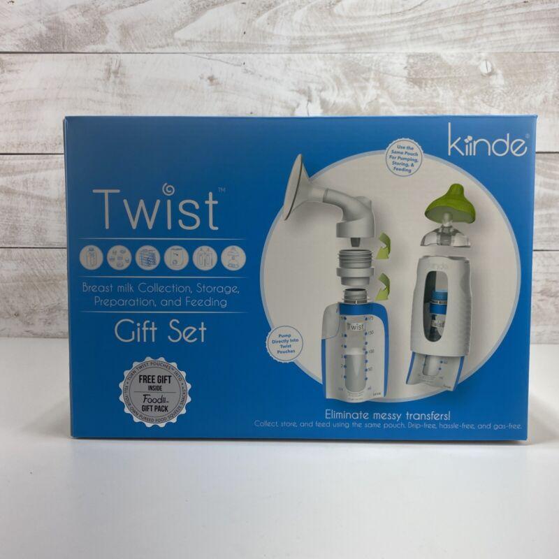 Kiinde Twist Breastfeeding Gift Set, Breast Milk Collection, Storage, Prep, Feed