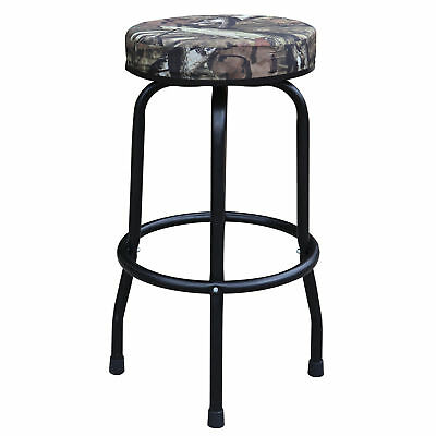 Torin Big Red 360 Degree Swivel Garage Shop Padded Bar Stool Seat, Mossy Oak for sale  Lincoln