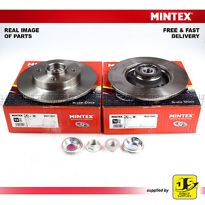 CITROEN C3 C4 DS3 PEUGEOT 2008 207 208 307 408 1.2 1.4 1.6 2.0 REAR BRAKE DISC