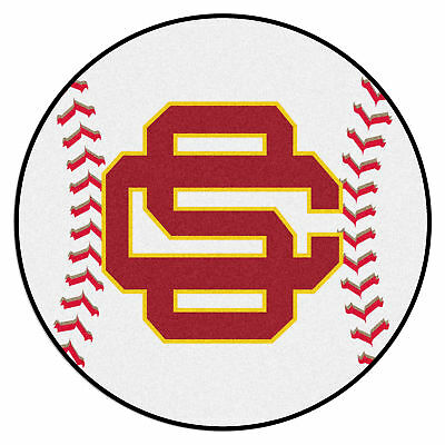 Fanmats University of Southern California Sports Team Logo Home Indoor Area Rug