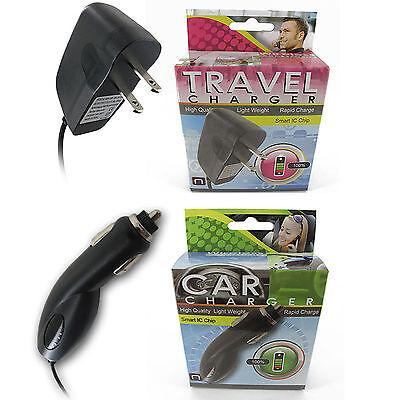 100x Lot Car + Home Micro USB Charger Mot V8 V9 Droid