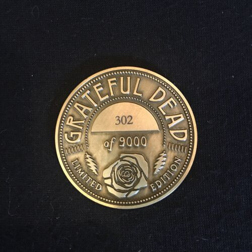 Grateful Dead Spring 1990 The Other One Limited Edition and Numbered Coin #302