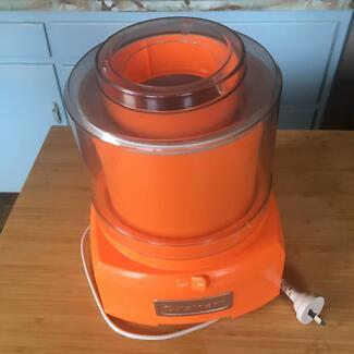 Cuisinart 1.5L Ice Cream Maker (Orange)
