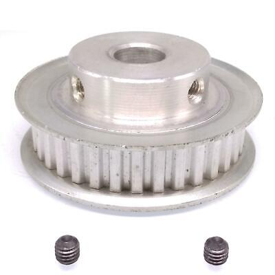 1pc Xl 35t Timing Belt Pulley Synchronous Wheel 12.7mm Bore For 10mm Width Belt