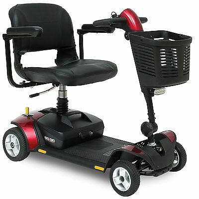 Pride GoGo Elite Traveller LX Mobility Scooter 4mph with suspension seat 12 amp