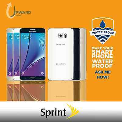 Samsung Galaxy Note 5 Sm N920p  32 64  Or 128Gb  Black White Gold Sprint