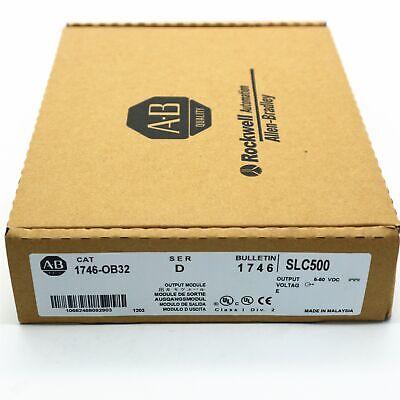 New Seal Allen Bradley 1746-ob32 Ser D Slc 500 Output Voltag Module Plc Us