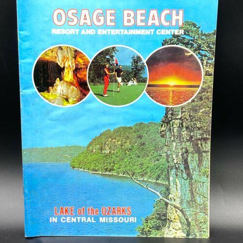 Vintage 1977 Osage Beach Resort Entertainment Center Travel Guide Booklet BK9