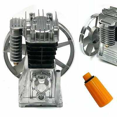 Twin Cylinder Air Compressor Pump Motor Head Tool 115psi Piston Style 175lmin