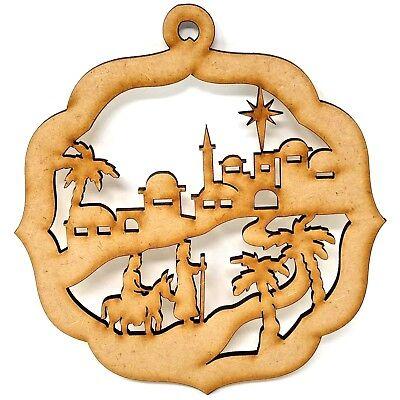 Premium Christmas Bethlehem Scene  MDF craft Shape design, Christmas gift ideas](Christmas Gift Craft Ideas)
